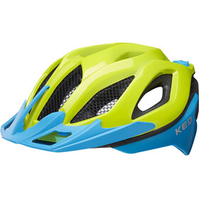 KED Spiri Two Helmet green blue